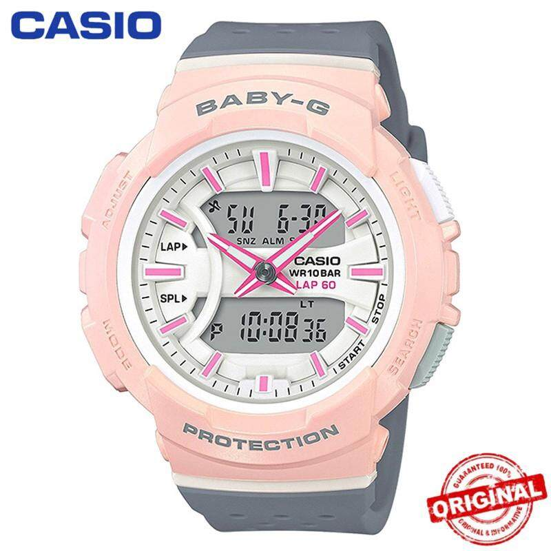 100% Original Casio Baby-G BGA-240 Wrist Watch Women Electronic Watches Malaysia