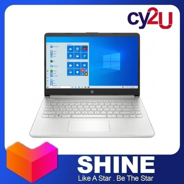 HP 14S-FQ1048AU 14 FHD Laptop - Natural Silver (AMD Ryzen 5 5500U, 8GB RAM, 512GB SSD, AMD Radeon Graphics, Win10) + Free MS Office H & S and HP Backpack Malaysia