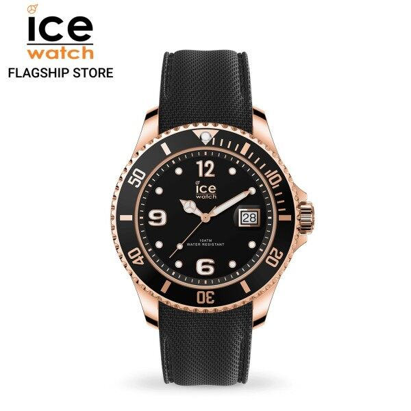 Ice-Watch ICE steel - Black Rose-Gold (Large) Malaysia