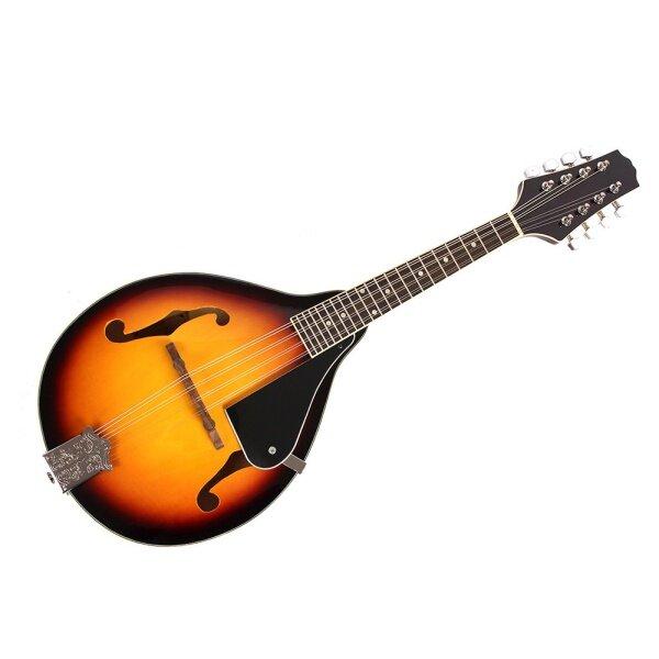 8-String Basswood Sunburst Mandolin Musical Instrument with Rosewood Adjustable Bridge Malaysia