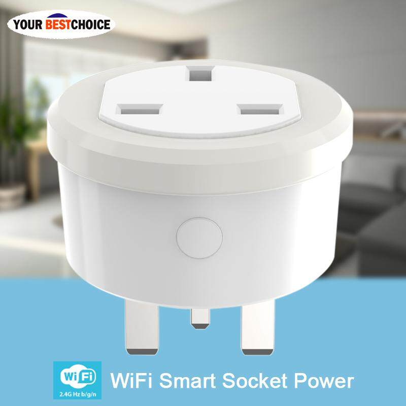 YBC WiFi UK Smart Plug Remote Control 2.4GHz One-key Connect Plug and Play for Smart Home
