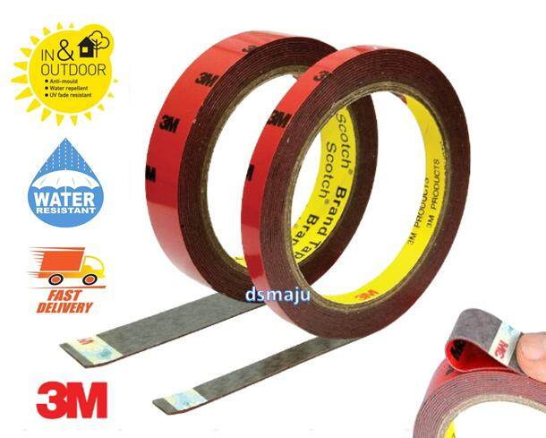 3M Double Side Tape Super Strong Exterior 3M Double Sided Tape Outdoor Water Proof