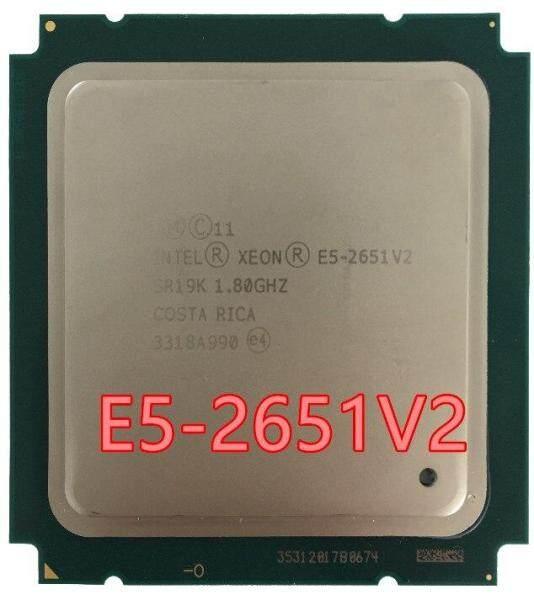 Bảng giá Bộ Xử Lý Xeon E5-2651 V2 E5 2651 V2 CPU 1.8 LGA 2011 SR19K Twelve Cores, Máy Tính Để Bàn Bộ Vi Xử Lý, E5 2651V2 E5 2651 Phong Vũ
