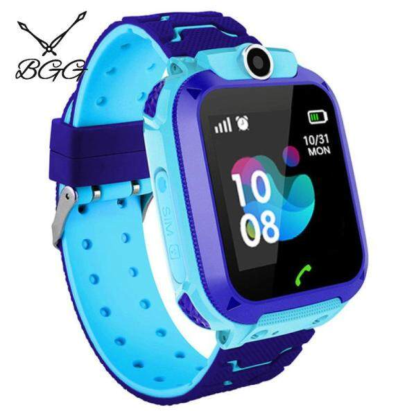 [RAYA SALE] BGG Boys Smart Watches Kids Phone Watch for Android IOS Life Waterproof LBS Positioning 2G Sim Card Dail Call Malaysia