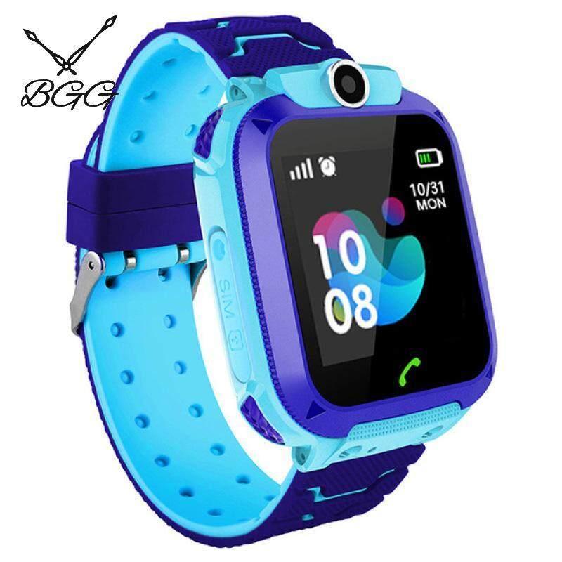 [RAYA SALE] BGG Boys Smart Watches Kids Phone Watch for Android IOS Life Waterproof LBS Positioning 2G Sim Card Dail Call Malaysia
