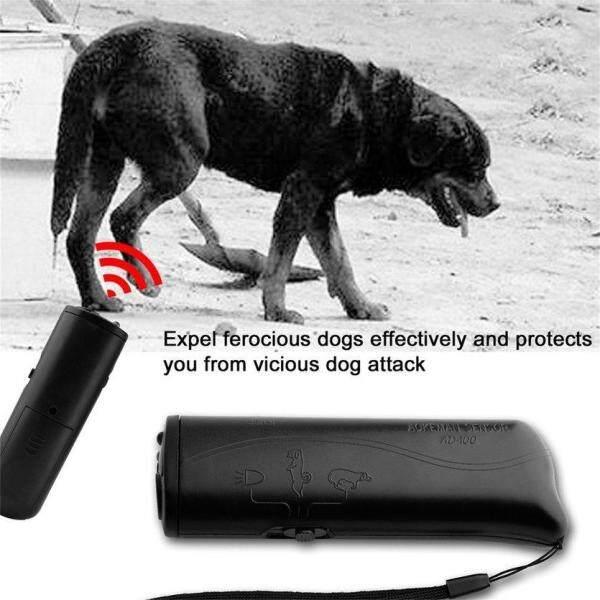 (Khuyến Mãi Tốt Nhất) Tay Cầm Xách Tay Siêu Âm Chống Sủa Chó Sủa Thiết Bị Máy Huấn Luyện Điều Khiển Đại Lý 3 Trong 1 Chống Sủa Dừng CD-100