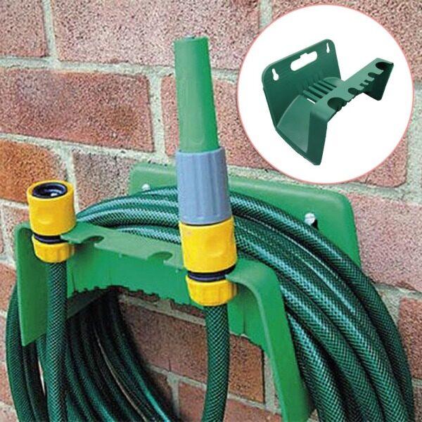 Wall-Mounted Water Hose Rack Holder Gardening Tools Rak Penyimpanan Gulung Paip Air 多功能水喉架
