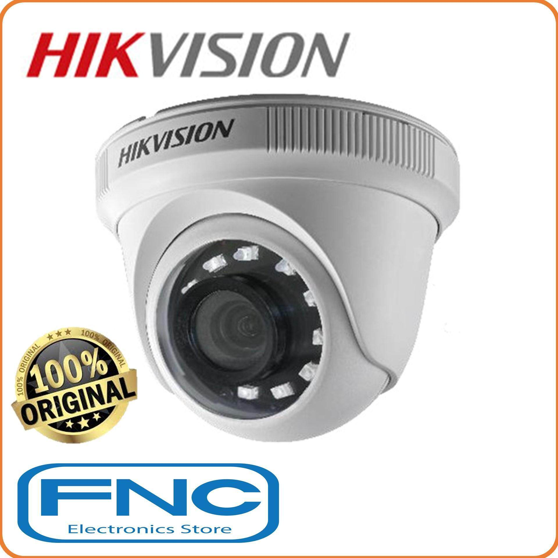 Hikvision Ds-2ce56d0t-Ipf Analog 2mp 1080p Fixed 3.6mm Lens 4 In 1 Video Output Switchable Indoor Ir Turret Dome Camera By Fnc Electronics Store.