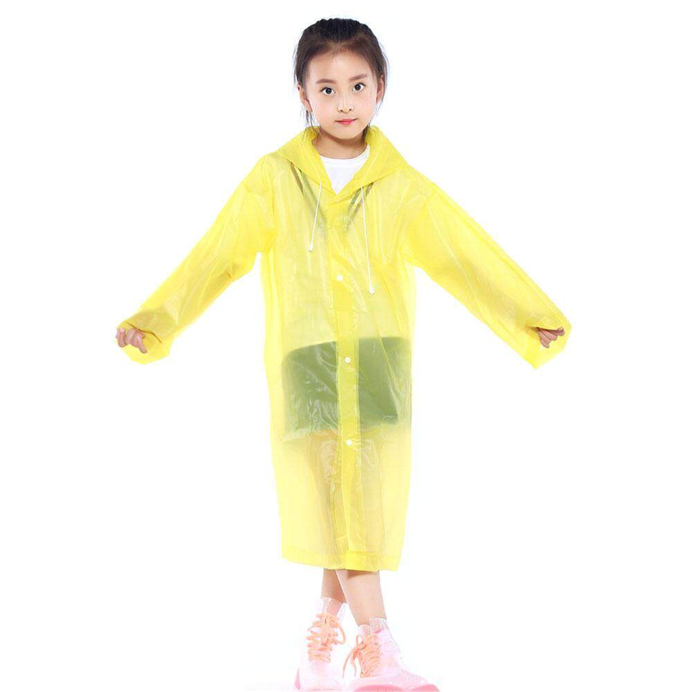 Benidiction Unisex Polychromatic Adult Child Outdoor Raincoat Rain Coat Hood