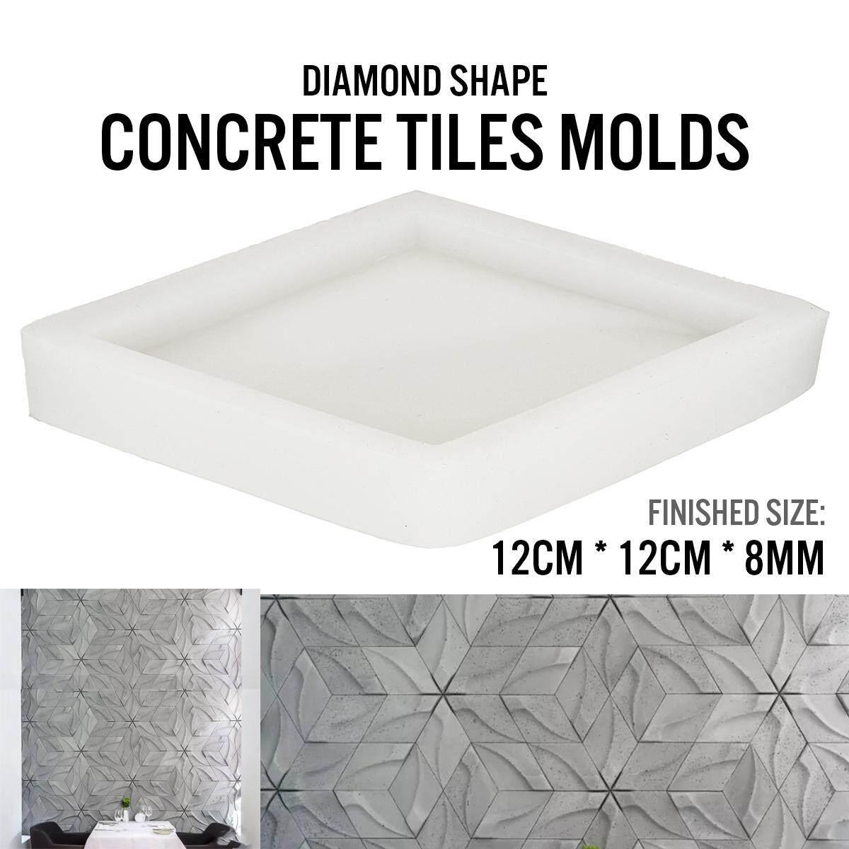 Khuôn tạo hình Cho 3D Ngói Tấm Nhựa ABS Dạng Khuôn Thạch Cao Đá Dán Tường Nghệ thuật treo Tường Trang Trí