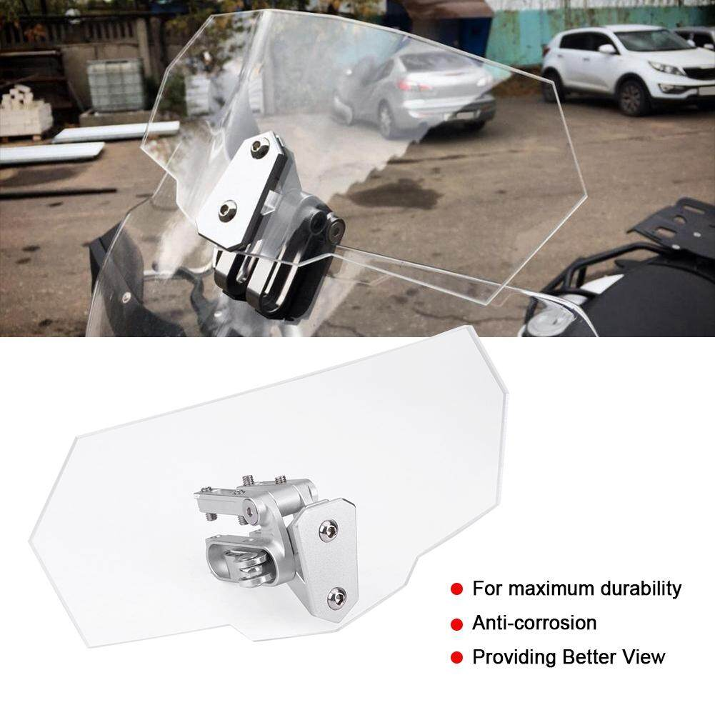 Motorcycle Universal Adjustable Windscreen Wind Deflector Windshield For Kawasaki Honda Ktm By Wowgoow Mall.
