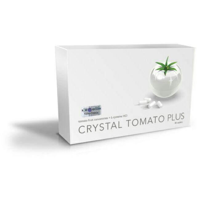 Crystal Tomato Plus (30 Caplets) By Sihat And More.
