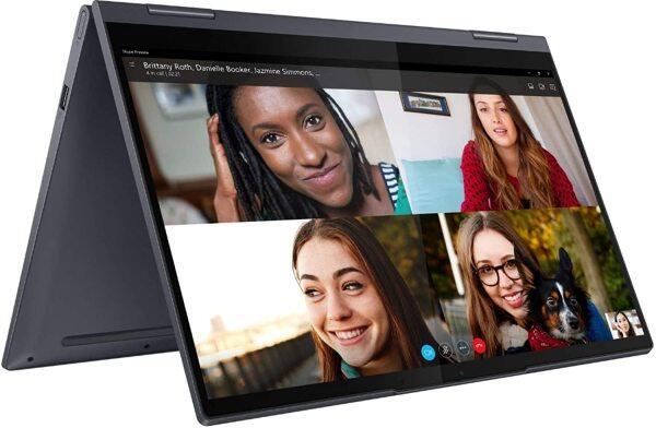 Lenovo Yoga 7i Laptop with 14 FHD 300 nits Touchscreen, 11th Gen Intel i7-1165G7, 512GB SSD, 12GB DDR4, Wi-Fi 6, BT 5.0, and Windows 10 Home Malaysia