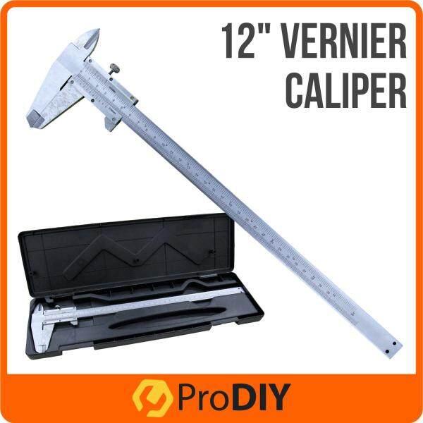 12 30cm Vernier Caliper for Inside, Outside, Depth and Step Measurements