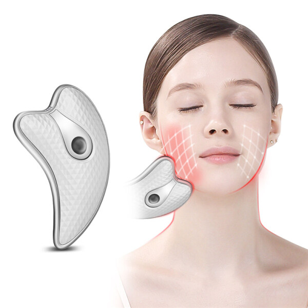 Buy CkeyiN Electric Facial Guasha Massager Body Scraping Massage Beauty Tool for Face Slimming, Firming And Wrinkles Removal Singapore