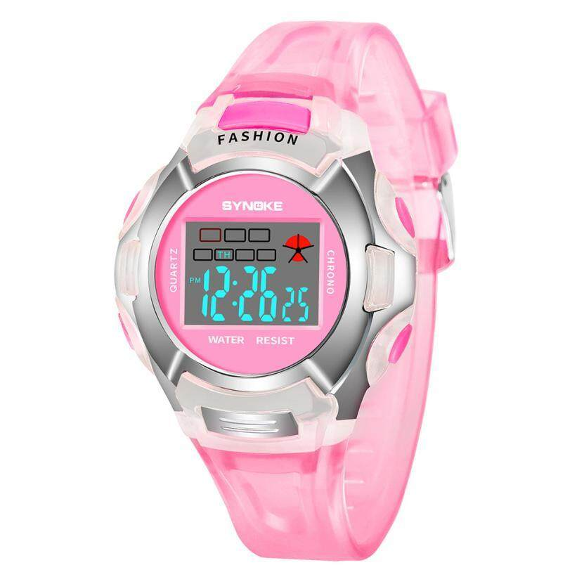 YB2215 New Waterproof Children Watch Boys Girls LED Digital Sports Watches Plastic Kids Alarm Date Casual Watch Select Gift for kid FWKI 08 Malaysia