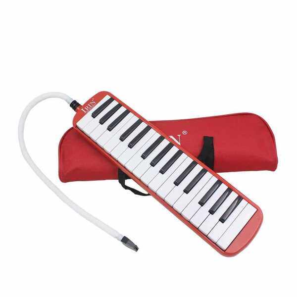 32 Piano Keys Melodica Musical Instrument for Music Lovers Beginners Gift with Carrying Bag (Red) Malaysia