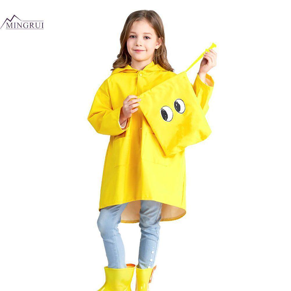 Mingrui Dinosaur Design Pvc + Pu Children Raincoat Kids Rain Coat Kids Rainwear Waterproof Lovely Outdoor Camping Outerwear By Mingrui.