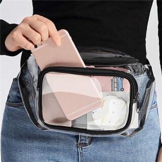 Túi Đeo Hông PVC Trong Suốt Hợp Thời Trang Túi Nữ Thường Ngày Túi Đeo Vai Trước Ngực Túi Đeo Hông Nữ thumbnail