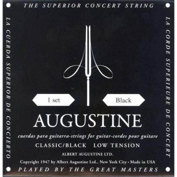 AUGUSTINE Augustin Classic Guitar String Black Set BLACK SET Malaysia