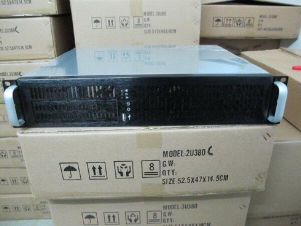 Bảng giá Vỏ Máy Tính Máy Chủ Công Nghiệp 2u380mm Tường Lửa NAS Máy POS Bộ Định Tuyến Bảng Nhôm Khung Giá USB 19 Inch Phong Vũ