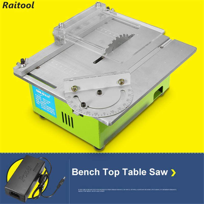 【Free Shipping + Flash Deal 】Raitool Portable Bench Table Saw Blade DIY Woodworking Cutting Polishing Carving Machine NEW