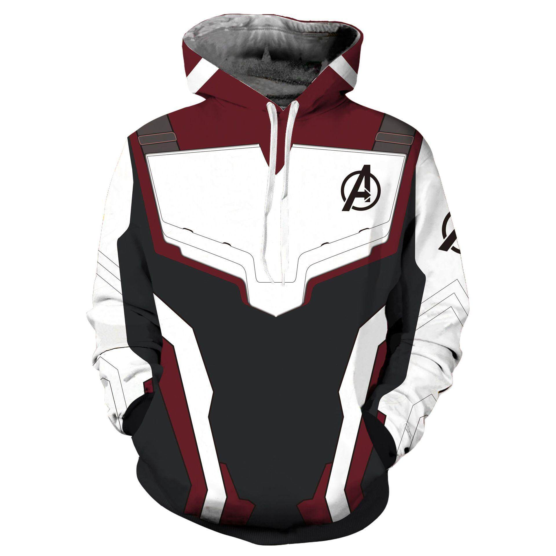 ff8bca630bf The Avengers 4 Endgame Quantum Realm Sweatshirt Jacket Advanced Tech  Superhero Iron Man Hoodies Suit