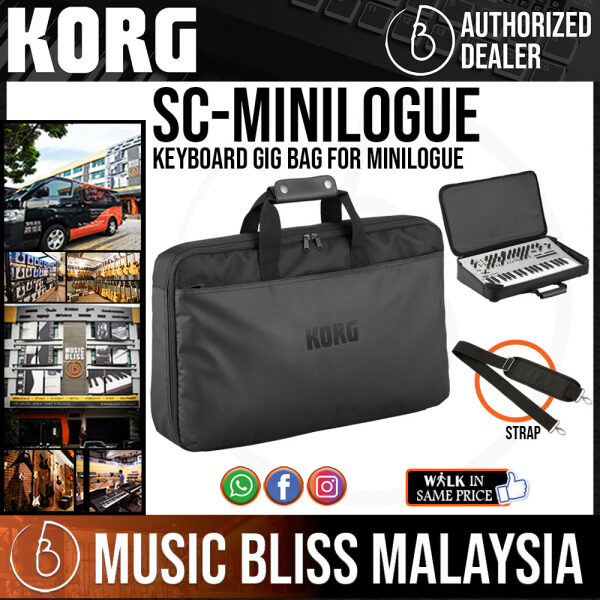 Korg SC-MINILOGUE Keyboard Gig Bag for Minilogue (SCMINILOGUE / SC MINILOGUE) Malaysia