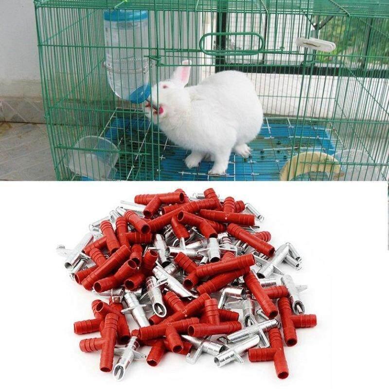 30 Cái Tự Động Thỏ Uống Nước Waterer Gia Cầm Feeder Bunny Rodent Chuột Trang Trại Động Vật Pet Nguồn Cung Cấp