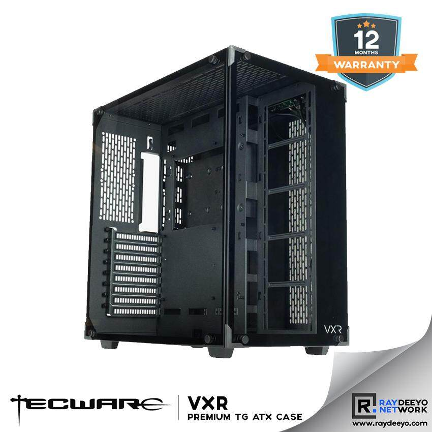 TECWARE VXR TG PREMIUM TEMPERED GLASS ATX GAMING CASE [ATX, Matx, Mini-ITX] Malaysia