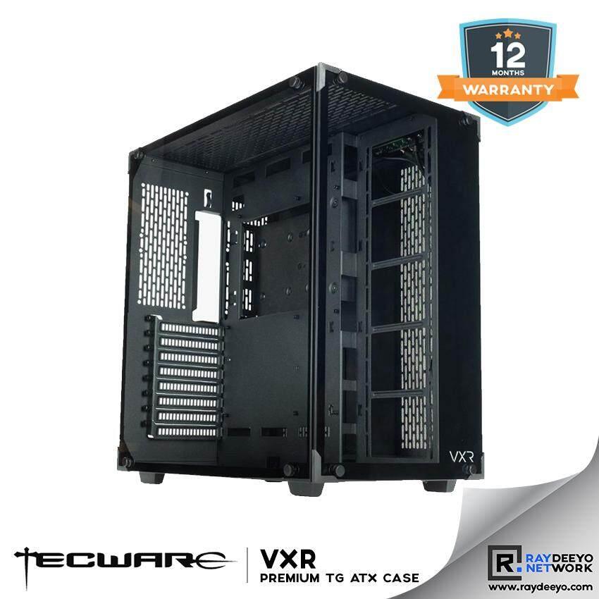 TECWARE VXR TG PREMIUM TEMPERED GLASS ATX GAMING CASE [ATX, Matx, Mini-ITX] Malaysia