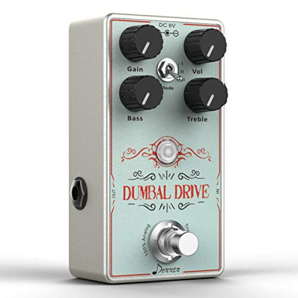 Donner Dumbal Drive Guitar Pedal True Analog Circuit Overdrive Pedal Malaysia