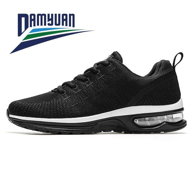 Damyuan Giày Tập Gym Chống Mài Mòn Chạy Bộ Thường Ngày Nhẹ Không Da Thoáng Khí Thoải Mái Cho Nam Nữ Sneakers Chạy Bộ