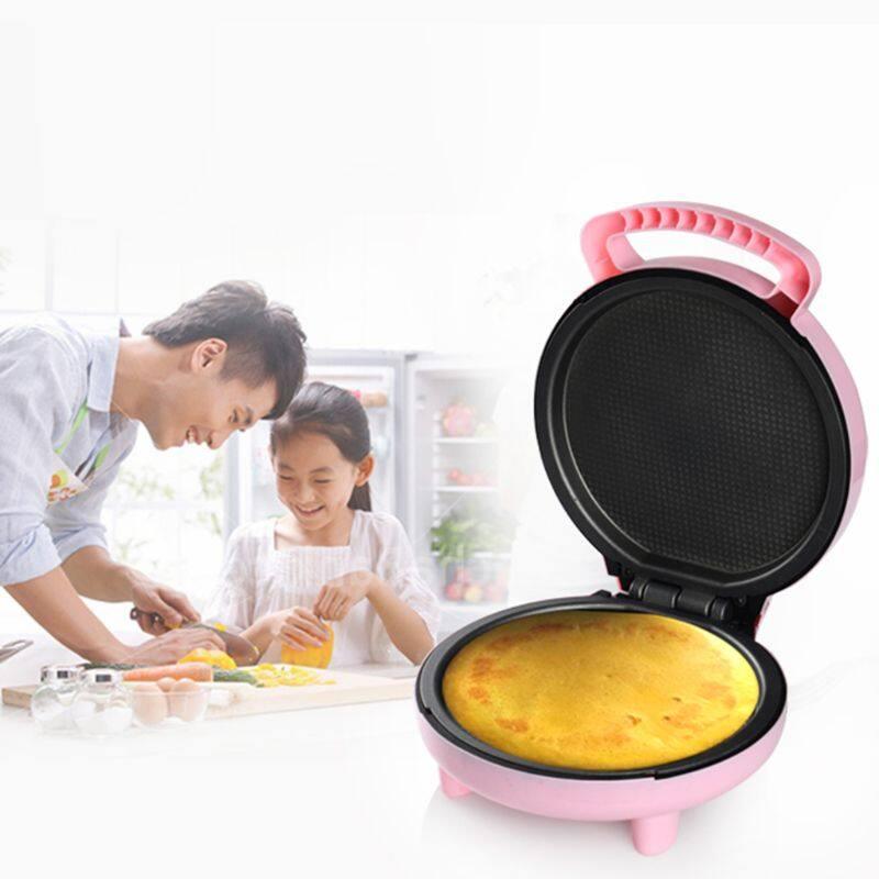Máy Làm Bánh Tự Động Chạy Điện 220V Máy Làm Bánh Mì Nướng Bánh Quế Đa Năng Hoạt Hình Mini Cho Bữa Sáng, Phích Cắm Kiểu Anh