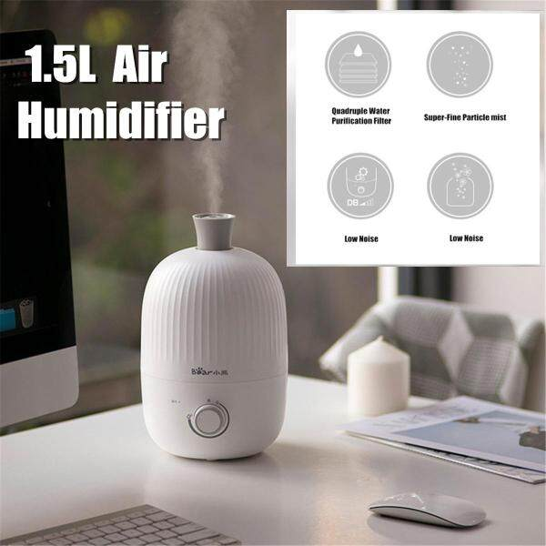 1.5L 30W Anion Air Humidifier Aroma Diffuser Purifier Fog Mist Maker Home Office Singapore