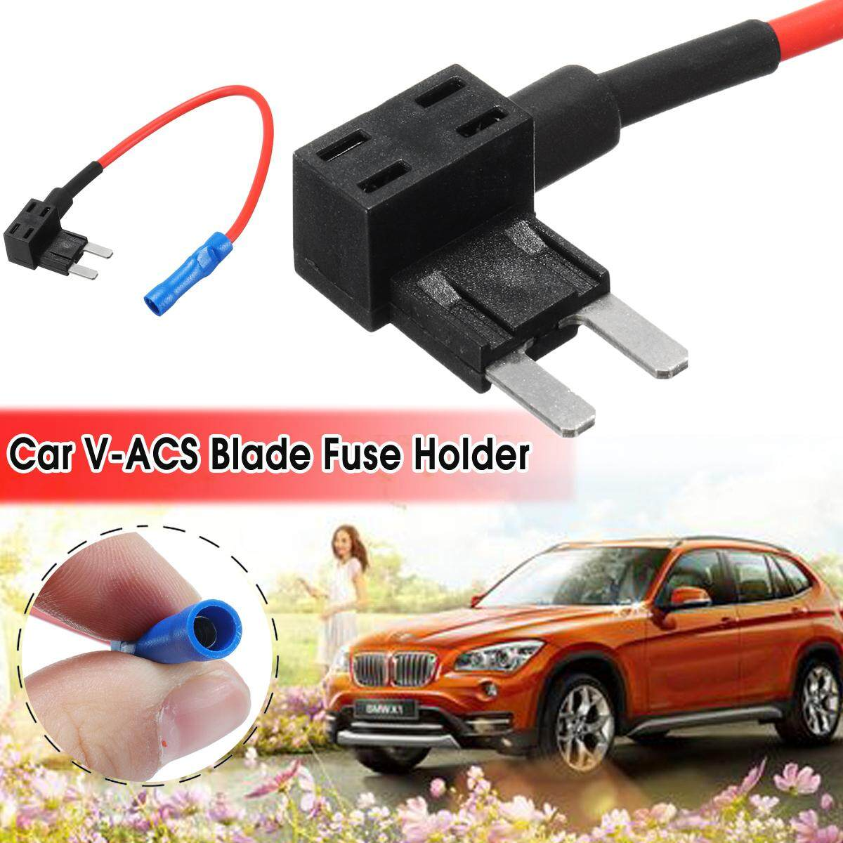 Car Add A Circuit Fuse Tap Blade V-Acs Fuse Holders Vehicle Circuit Protection By Freebang.