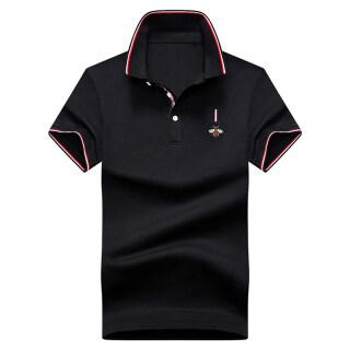 Gucci áo Polo Mới Mùa Hè 2020, Áo Thun Nam Thêu Mỏng Có Ve Áo Logo Phổ Biến Xu Hướng Ngắn Tay thumbnail