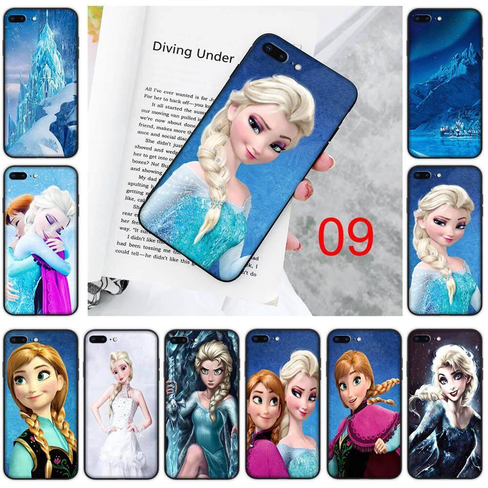 YU79 Frozen Black Soft Phone Case for Xiaomi Redmi Note 4 4X 5 6 7 8 Pro Cover