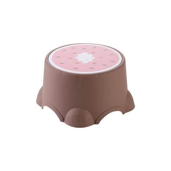 【Yassine】Cartoon Fruit Stool Thickens Childrens Stool Plastic Stool Household Lovely Round Stool Baby Stool Low Stool