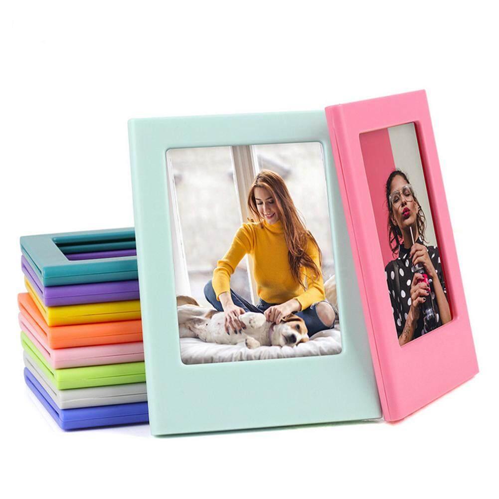 Giá Googoo Từ Nhựa Mini Khung Ảnh Tủ Lạnh Nam Châm Cho Polaroid Mini 3 Inch Hình Ảnh
