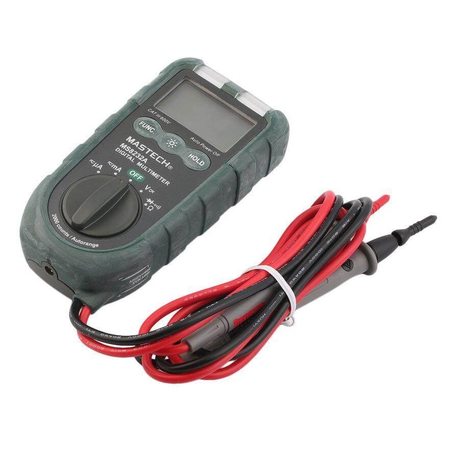 Cozy MASTECH Handheld 2000 Counts AC/DC Voltage Current Digital Multimeter