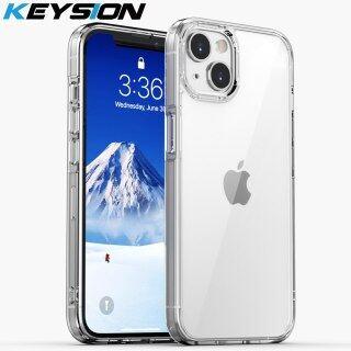 Ốp Lưng KEYSION Full HD Trong Suốt, Dành Cho iPhone 13 Pro Max Ốp Lưng Điện Thoại Chống Sốc TPU + PC Thời Trang Dành Cho Apple iPhone 13 13 Mini thumbnail