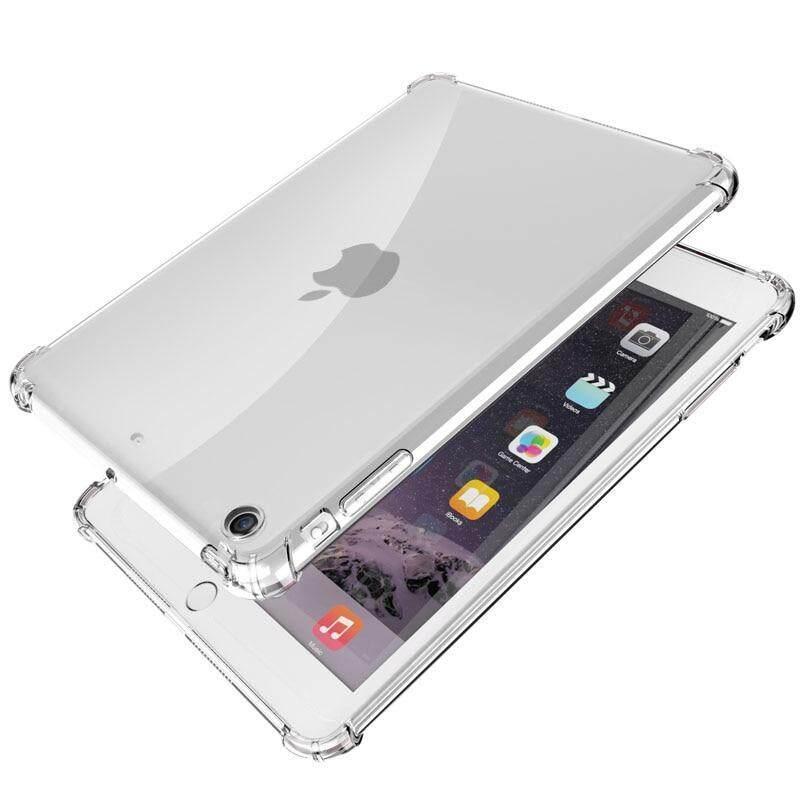 Anti-knock TPU Case For New iPad 2019 2018 2017 9 7'' Clear Cover For iPad  Air 2 5 6 Mini 5 4 3 2 Case For iPad Pro 10 5''