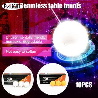 PAlight 10 Quả Bóng Bàn, Bóng Bàn Nhựa 3 Sao 40 + ABS Bóng Tập Bóng Bàn thumbnail