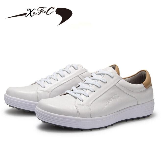 Giày Chơi Golf Nam, Giày Da Chơi Golf, Giày Đánh Gôn Thoải Mái, Không Thấm Nước Và Thoáng Khí giá rẻ