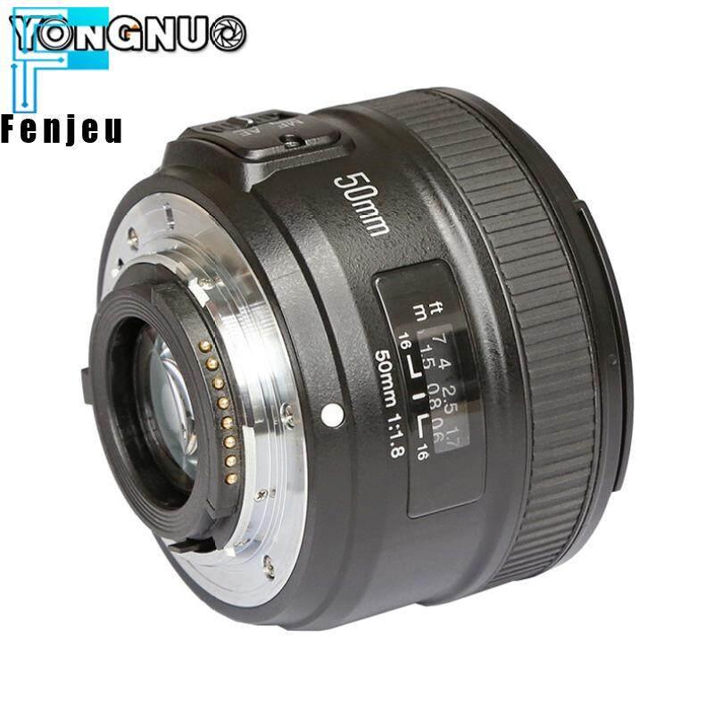 【Ready Stock】yongnuo 50 Mm YN50mm F1.8N Apertur Besar Auto Lensa Fokus untuk Lensa Nikon D5300 D3400 D7200 D3100 D3200 D90 D5100 D5600 D5200