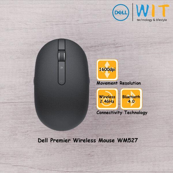 Dell Wireless Bluetooth Mouse Premium WM527 - Black Malaysia