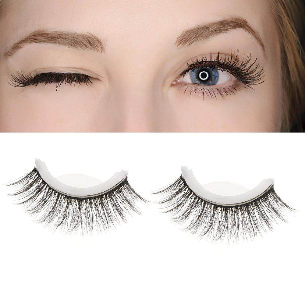 3D Professional Self Adhesive Eyelashes No Stimulation False Eyelashes Extension