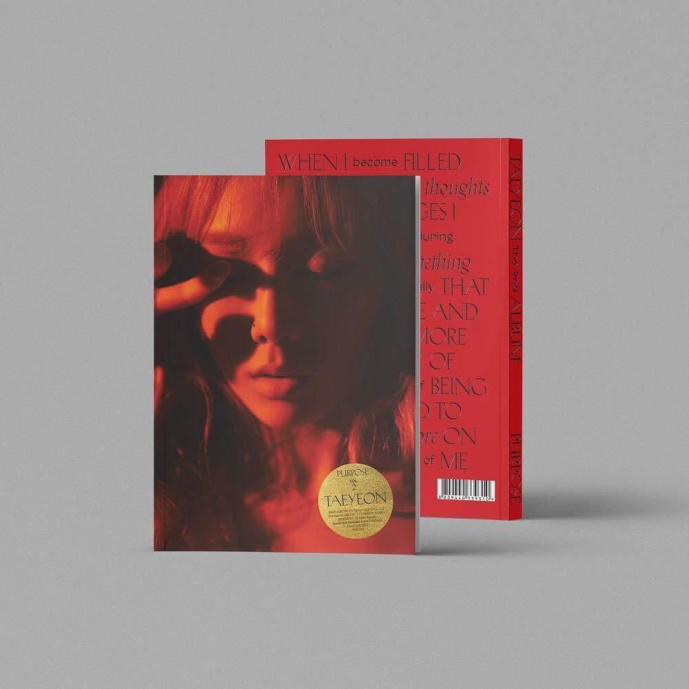 [SM] TAEYEON (SNSD) - Purpose Deluxe Edition (Vol.2) Album + Folded Poster - kpop SNSD girls generation