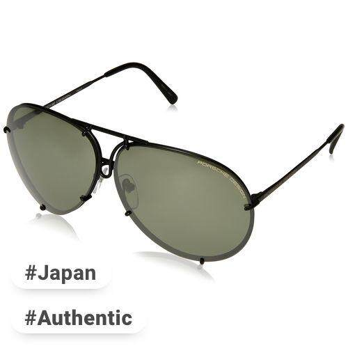 8b8ebabbcb5 PORSCHE DESIGN glasses Men s black mat Japan 69 FREE size